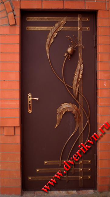 Входные металлические двери для дома своими руками 27