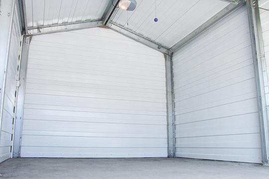Как построить гараж из сэндвич панелей своими руками видео